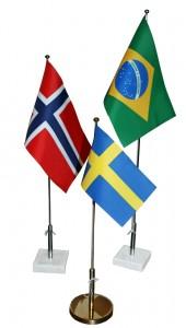 Bordsflagga Svensk