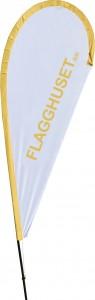 Exempel beachflagga