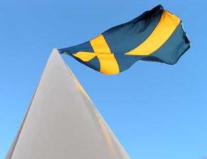 Flagga-på-flaggstång