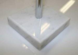 Fot till bordsflaggstång marmor