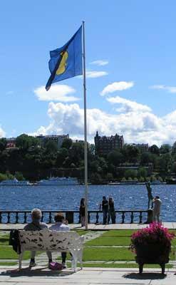 St-Erik-flagga-stadshuset