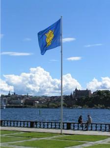 Stockholms flagga statshuset