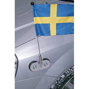 Buss- & bilflaggstänger