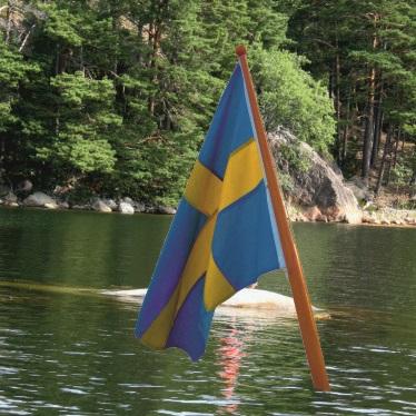 Båtflaggstänger