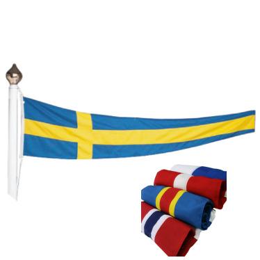 Svenska vimplar & nordiska vimplar
